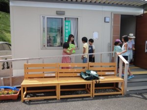 夏祭り@Kウェーブ仮設住宅