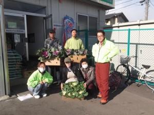 花プロジェクト@気仙沼市内仮設住宅①
