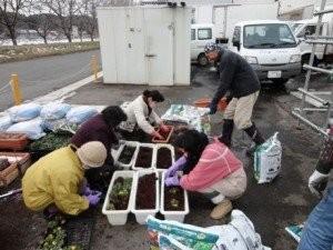 花プロジェクト@魚の駅with駒場公園の皆さん