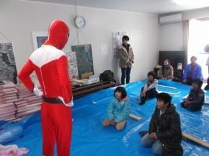 ヒーロー戦隊ケンチック!@気仙沼市 仮設住宅
