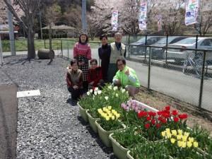 花プロジェクトその後①@駒場公園仮設住宅