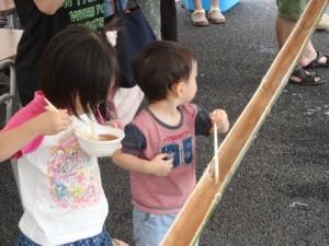 健康夏祭り@五右衛門テニスコート仮設住宅