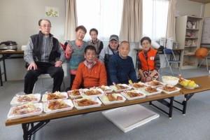 今年最後のクリスマス会@条南中学校仮設住宅