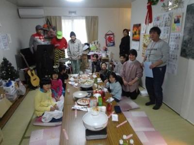 クリスマス会@気仙沼市総合体育館仮設住宅