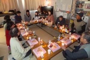 クリスマス&忘年会ラッシュ!!@気仙沼市内仮設住宅