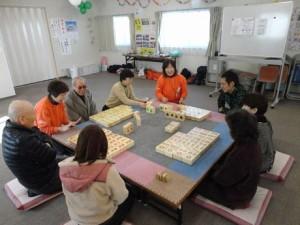 コミュニケーション麻雀@鹿折中学校仮設住宅