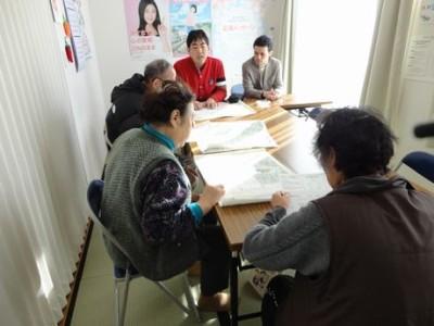法律勉強会@気仙沼西高校仮設住宅