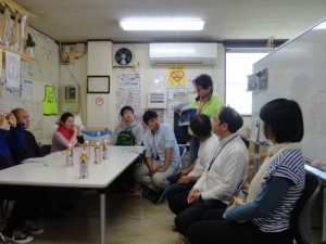 NPO育成・強化プロジェクト「NPO15の力」  宮城メンバー自主情報交換会 @気仙沼