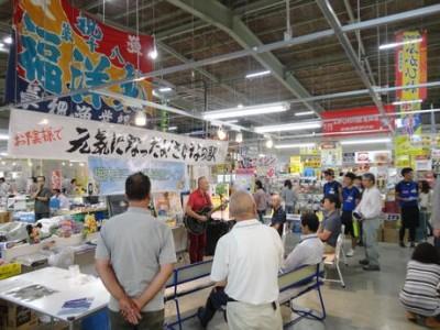 堀内圭三さん復興ライブ@気仙沼さかなの駅